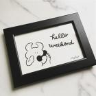 Hello weekend www.uamou.com